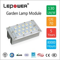 Multi-chip encapsulation 15W High lumen Led street light modules with LM80 report/TUV/CE/ROHS/SAA certificates