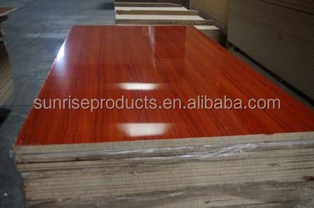 Hot sell melamine laminated Chipboard/Particle Board in low price