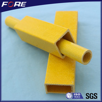 Fiberglass profiles FRP pipe,underground pipe,round pipe with favourable price