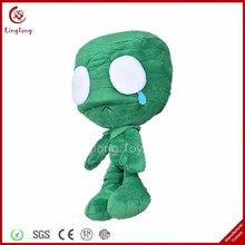 Supple plush green crying mummy stuffed cartoon action figures soft cartoon doll