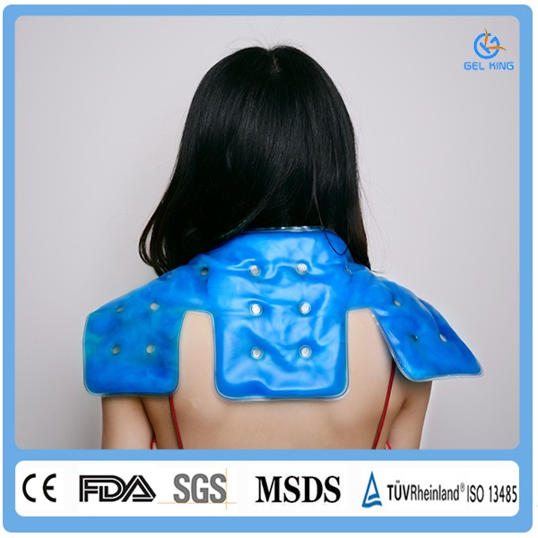 Best Health Medical Bestseller Magic Neck Warmer/Gel Hot Cold Pack