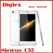 Hot Original SISW00 C55 2GB Ram 16GB Rom Android 5.1 Mtk6732 Dual Sim 420mAh GPS Google Play Smart Mobile Phone