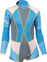 surfing wetsuits for sale, one piece short pants neoprene womens sexy wetsuits W-10