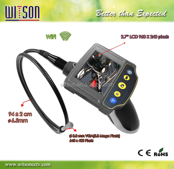 Witson wifi endoscope camera with 2.7 inch HD LCD Monitor (W3-CMP3813MW)