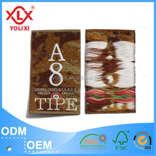 2017 Custom China garment label with competitive price