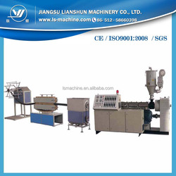 Good machine PE carbon spiral reinfoced pipe production line