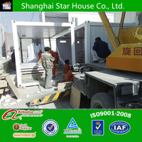 Prefabricated steel frame house(certified by CE,B.V.,CSA &AS)