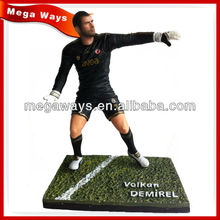 PVC 3D custom sport action figure for collection