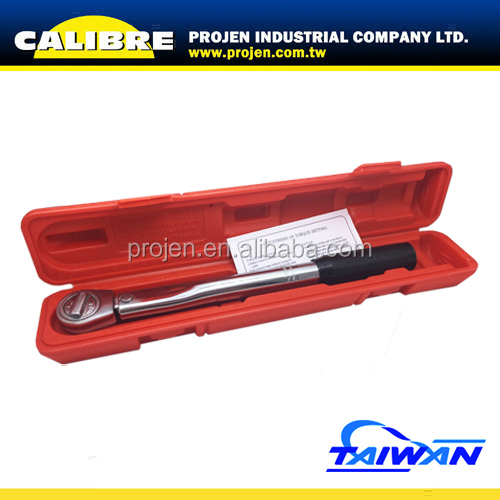 "CALIBRE Hand Tools 5 to 80 FT/LB 3/8"" Dr Adjustable Torque Wrench"