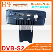 [Genuine] KPT-255H Super Digital TV Receiver Encoder Modulator Full HD DVB-S2 Sat Finder Watch Free Channels Satellite Finder