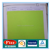 100% cotton flame retardant twill fabric fluorescent green 7*7 68*38 56/57width