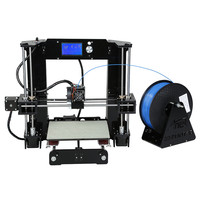 Most Popular prusa i3 3d printer kit impresora 3d home use DIY digital desktop 3d printer machine fast cura stl gode printing