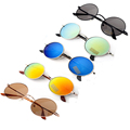 Promotion Fashion UV400 Adults Round Sunglasses