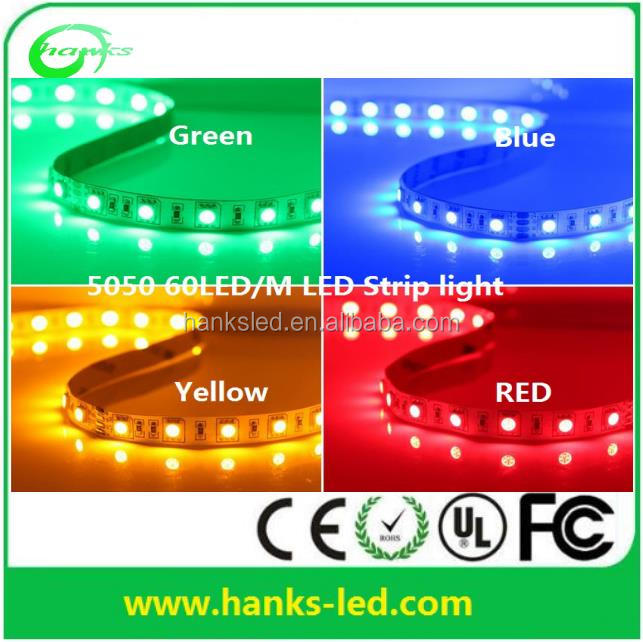 2017 Low price RGB waterproof IP65 12V 5050 LED Strip light