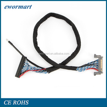 China Customized lvds cable LVDS /LCD electronical Cables Wiring Harness suppliers