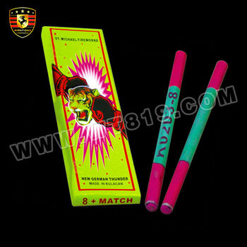 K0203-8 Match firecracker with 8 bangs new German Thunder