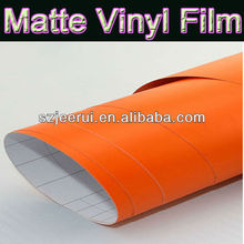 Matte Vinyl For Car Wrapping With Air Free Bubbles,Bestseller Orange Carbon Fiber Vinyl Film,Car Wrapping Stickers For Full Body
