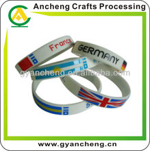 2012 Hot Sale Rubber Silicone Bracelet)for London Olympic Games)