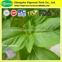 Free sample natural 4:1 tulsi leaves extract powder