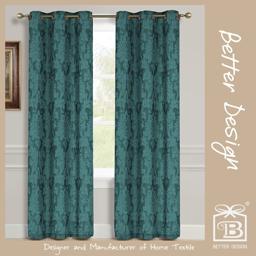 1PC JACQUARD BLACKOUT MODERN ITALIAN CURTAINS WITH CURTAIN FABRIC IN ITALY FOR LIVING ROOM