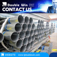 zinc GI Steel pipe hot dipped galvanized water line mild