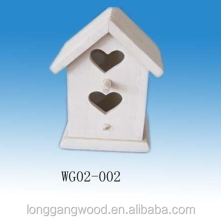 made in china hot sell factor price popular small delicate bird house cheap bird houses wood bird nest