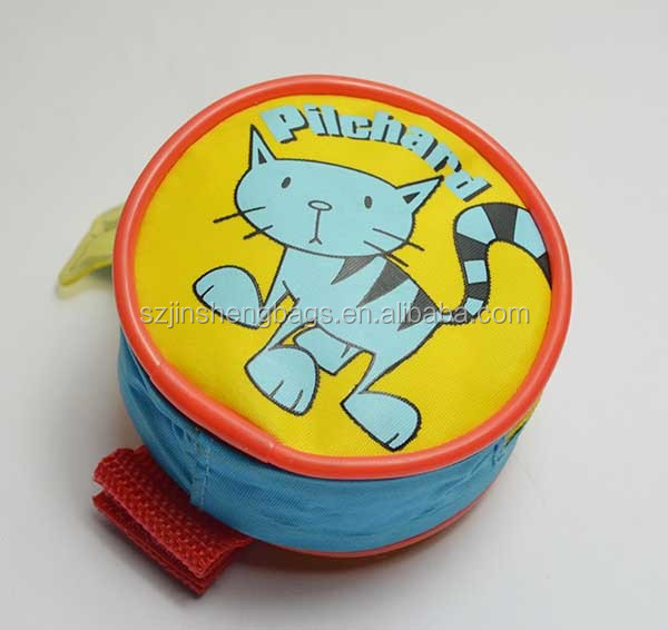 Cute round kids wrist wallet
