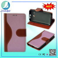 Fashionable smart smooth wallet leather case for sony ericsson ck13i