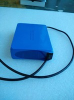 lithium ion 12V 6000mah lithium polymer battery packs for medical and video camera with switch