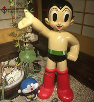 Fiberglass Cute Cartoon Art Sculpture of Animation Movie Character