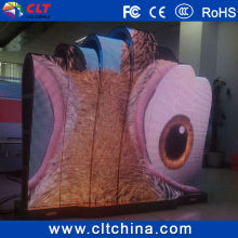 p6 flexible led screen/full color soft led curtain display/led modules price china