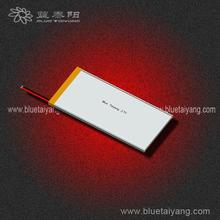 soft pack 3.7v 2000mah lithium polymer battery cell 504590