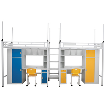school bus bed bunk bed with trundle double decker bunk bed