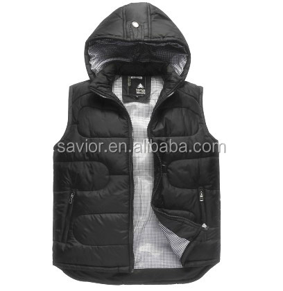 Wholesale Softshell Windproof Battery Powered Heated Vest for men