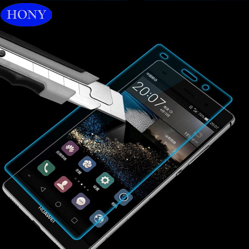 Wholesale high quality mobile phone 9H tempered glass for huawei p8 lite tempered glass screen protector