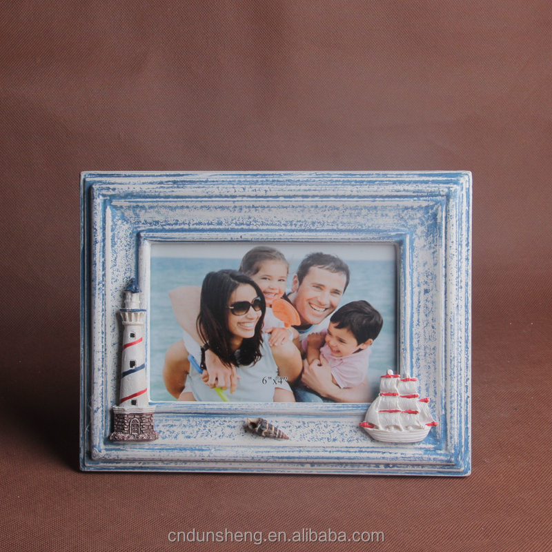 new fashion photo frame cutting wood cheap price for promotional gift