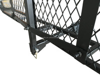 Hitch Mounted Folding Cargo Carrier
