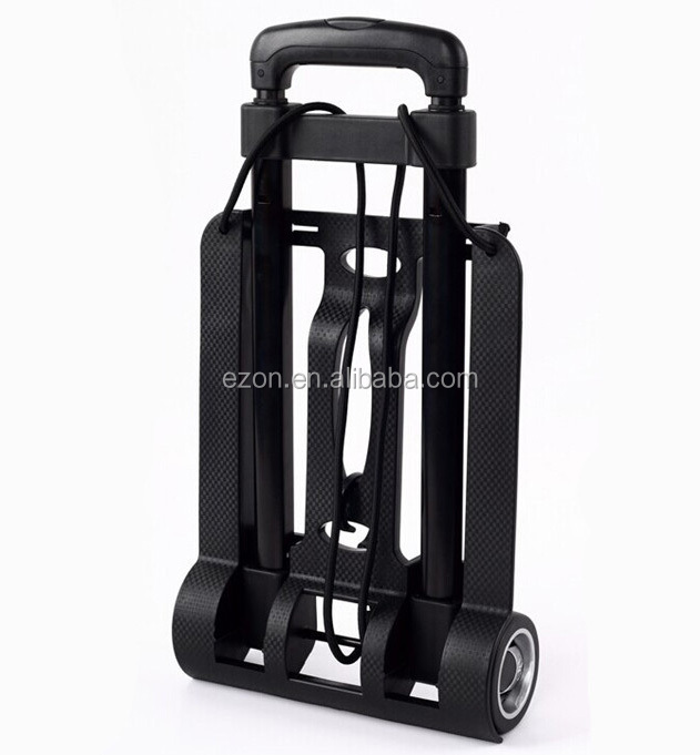 Multi-purpose folding hand cart /Light luggage folding trolley/Lightweight aluminum folding luggage trolley cart