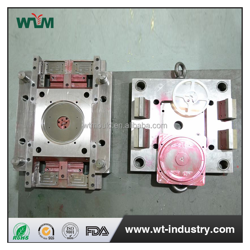 High quality stamping plastic mold for IC package shelf bracket