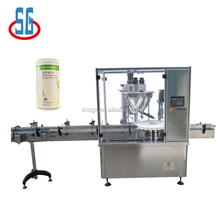 SG Automatic Talcum Toner Powder Filling Capping Machine