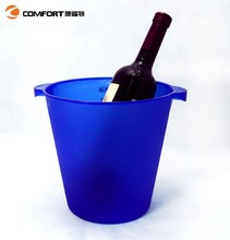 4.5L small mini blue belvedere vodka acrylic ice bucket cooler