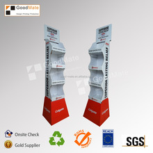 POS Promotional Cardboard Advertising Display Stands for Toothbrush