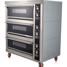 Commercial Electric Bakery machines for bread making Pizza Deck oven