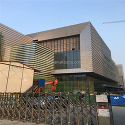 Insulated Panel Laminated Glass Decorative Curtain Wall