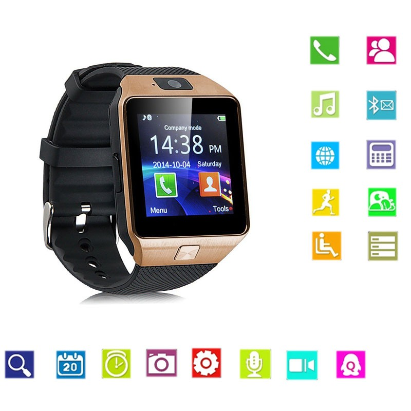 Bluetooth DZ09 Sim Card China Smart Watch Phone For Android/ for iPhone Accessories for Kids Watches
