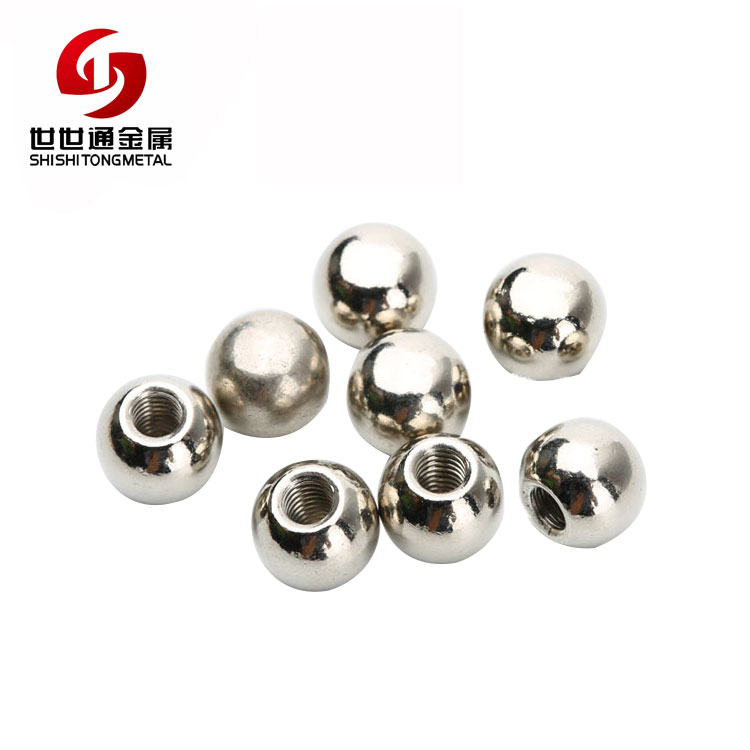 Hardware Fastener Accessories Cleaning Stainless Steel Round Slotted Extra Small Ball Nuts