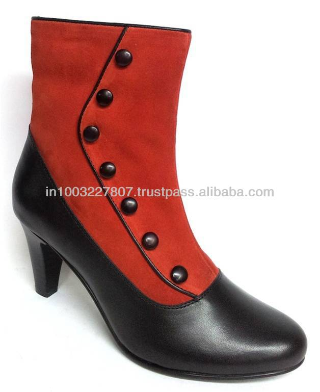 Classic Red Evening Dress Shoes Women