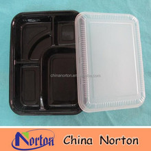 Health Food Packaging Product Cheap Biodegradable Disposable Plastic Take Away Bento Box NTPC- 123B