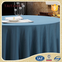 Guangzhou Embroidered Polyester Washable Vinyl Table Cloth