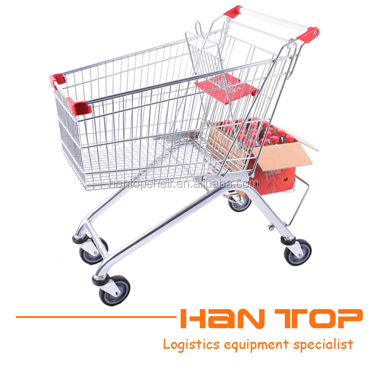 Factory direct sale European style supermarket Shopping Trolley HAN-E125 159